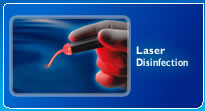 Photo Activated Disinfection for caries, root canals, periodontics, and endodontics